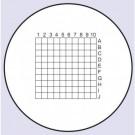 Mikrometr okularowy z siatką 5x5mm